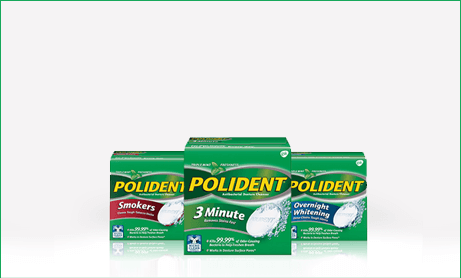 Polident® Denture Cleansers