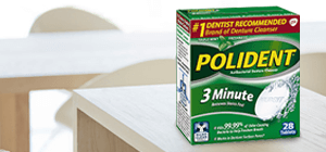 Polident® 3-Minute Cleanser
