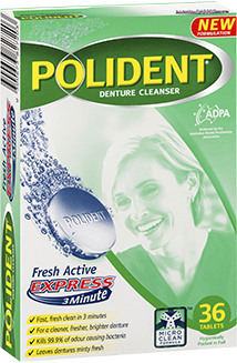 Polident Fresh Active Express Cleanser