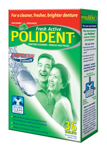 Polident 5-Minute Anti-Bacterial Denture Cleanser