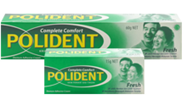 Polident Packshot TUBE + CARTON