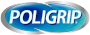 Poligrip logo in header