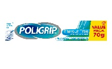 Poligrip Flavour Free 70g fixative cream for dentures